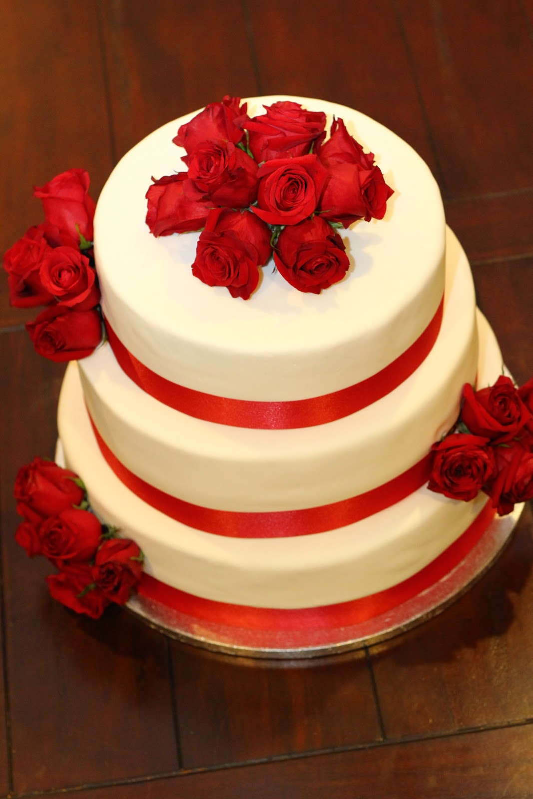 Sweet Cakes & Honey Buns: 60th Wedding Anniversary Cake