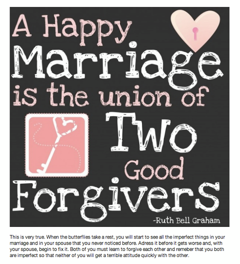 a happy marriage is