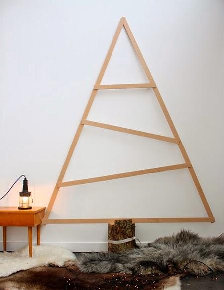arvore de natal de madeira