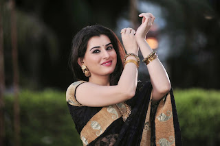 Actress Archana  Saree Pictures From Anandini Telugu Movie  8