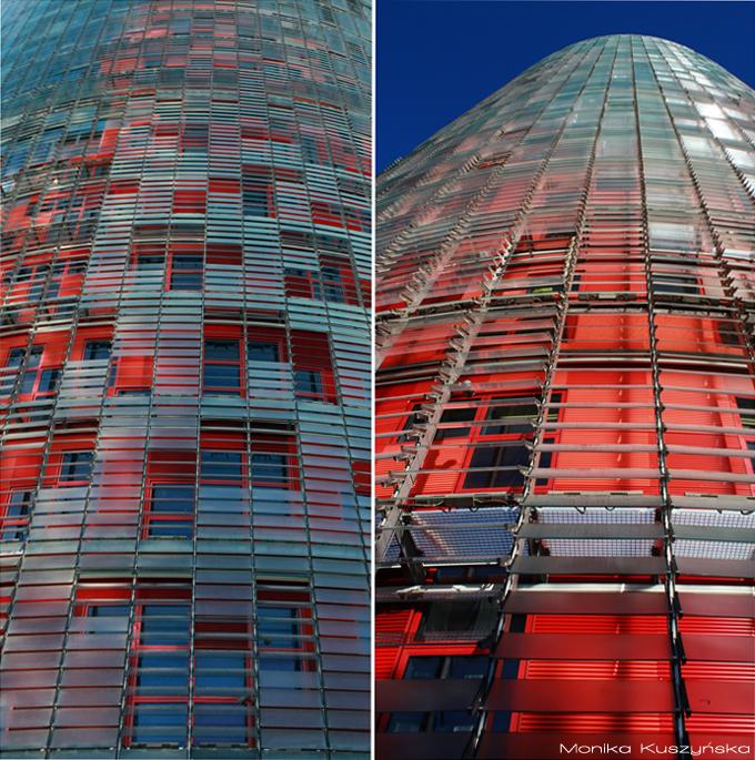 Barcelona, Hiszpania, Torre Agbar, Monika Kuszyńska, fotografia
