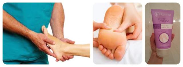 Cuidados para los pies - visitar al podólogo, masajes, cremas para pies