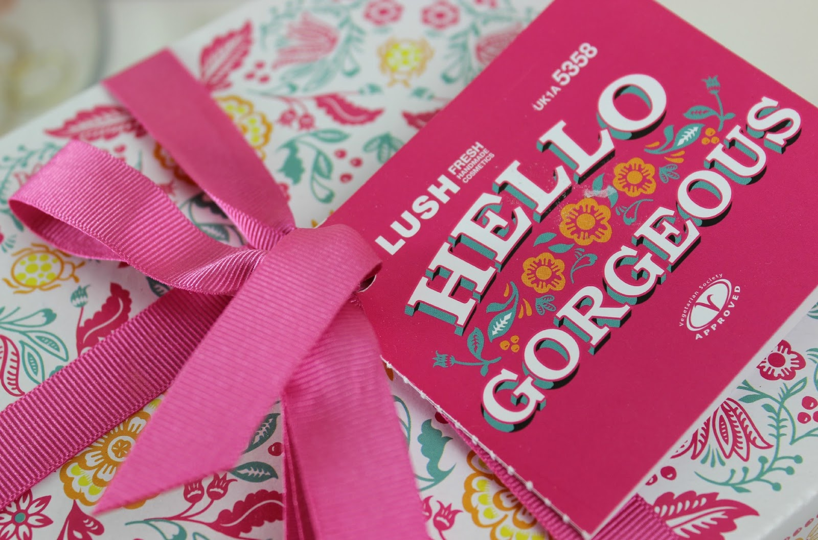 A picture of Lush Hello Gorgeous Gift Set