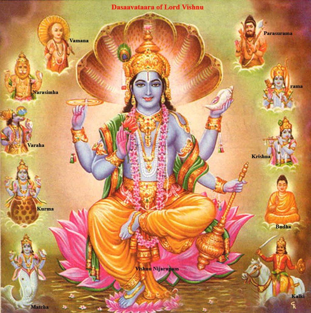 lord vishnu with laxmi - photo #20