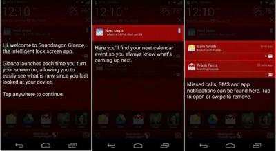 Qualcomm Luncurkan Snapdragon Glance, Aplikasi Lock Screen Unik Untuk Aplikasi