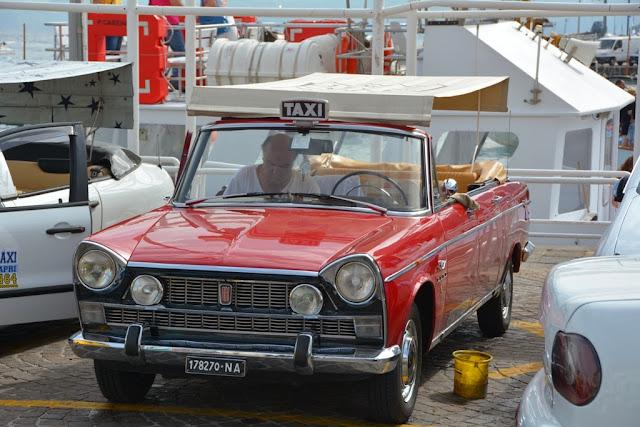 Fiat Convertable taxi Capri