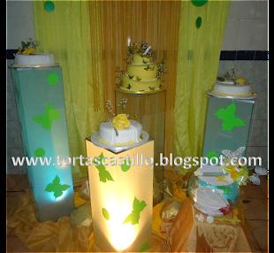 Torta 15 Años de Mariposas