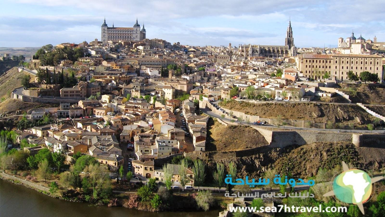 معلومات من مدينة توليدو إسبانيا   طليطلة