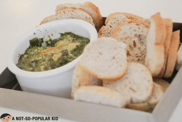 Spinaci Tramezzini of CIBO Restaurant