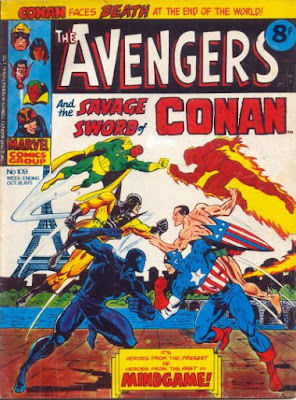 Marvel UK, Avengers #109