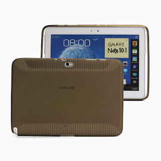 TPU Case for Samsung Galaxy Note (10.1) / N8000 / N8010, Grey