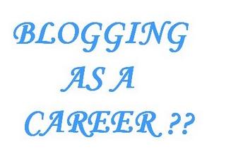 Blogging+career