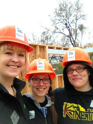 Bri Shanny Rachel - Volunteer Day: Habitat For Humanity