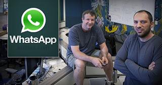 Pendiri Whatsapp Brian Acton dan Jan Koum - Apakah Arti Dari Whatsapp?