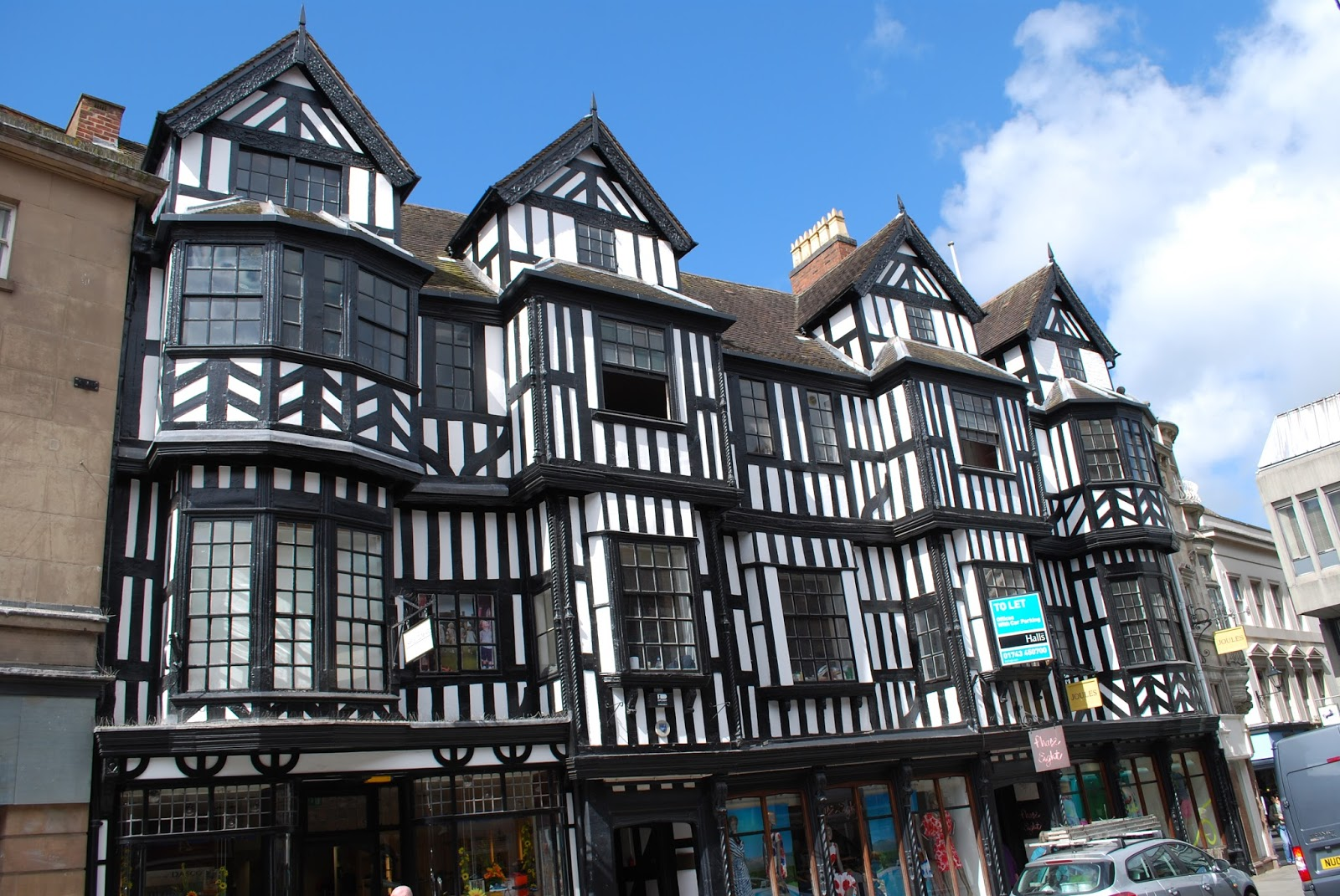 Peter G Shilston 39 S Blog Shrewsbury Black And White Buildings