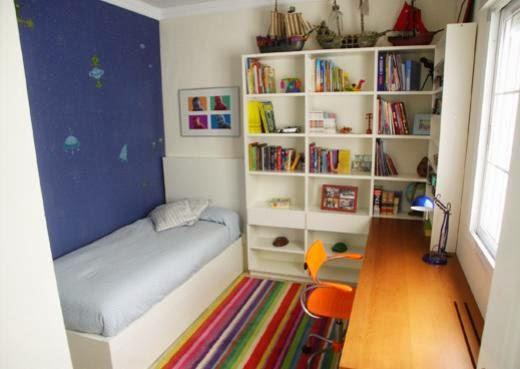 Fotos de habitaciones alcobas dormitorios dise o - Mesa de estudio juvenil ...