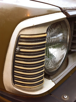 1973 Toyota Corolla 1600 headlight