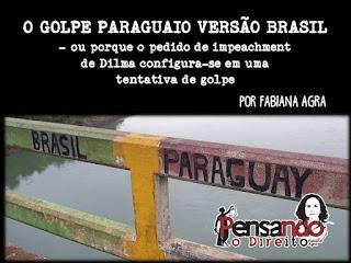O golpe paraguaio versão Brasil