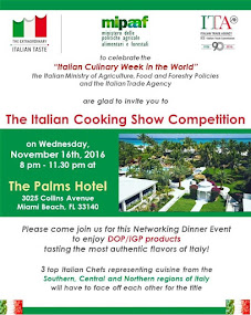The Italian Cooking Show Competition Miami
