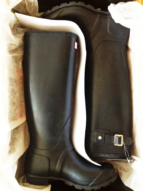 hunter boots blog review