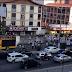 Protesto de aposentados e pensionistas na avenida Salgado Filho complica o trânsito