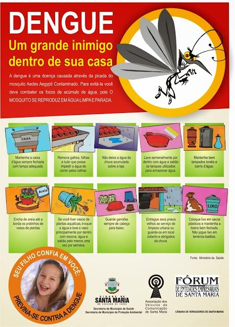 Cartazes contra a dengue (5 de novembro)