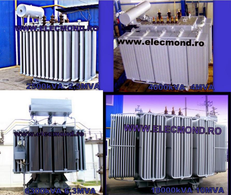 Transformatoare de putere ,transformatoare electrice ,  transformator 2500kVA , transformator 4000kVA, transformator 6300kVA, transformator 10000kVA, preturi transformatoare , oferta transformatoare , transformator pret