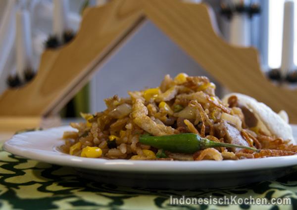 Nasi Goreng rezept indonesisch