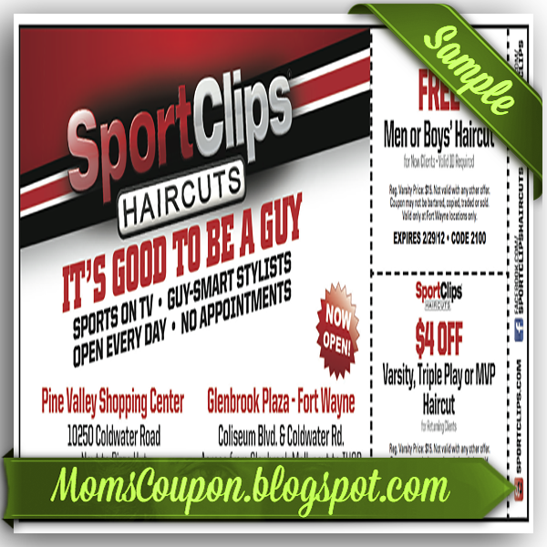 graphic relating to Sports Clips Coupon Printable named Neat cuts coupon printable - Wicked ticketmaster coupon code