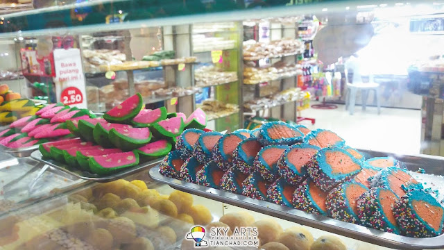 Colorful Indian desserts @ Little India Brickfields KL