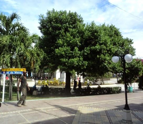 Emblemático parque José Martí de Guantánamo