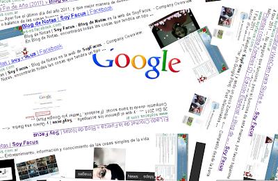 Gravedad en Google