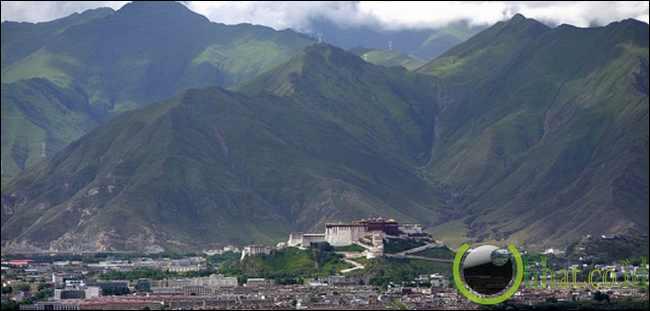 Lhasa di Tibet