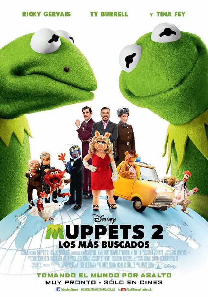 Muppets 2: Los Más Buscados (2014)