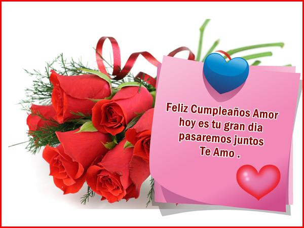 Tarjetas de cumpleaños las más especiales para dedicar - Tarjetas De Feliz Cumpleaños Mi Amor