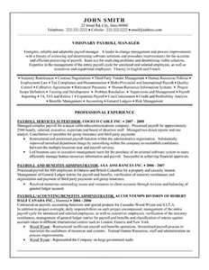 resume sles sap hr payroll consultant resume