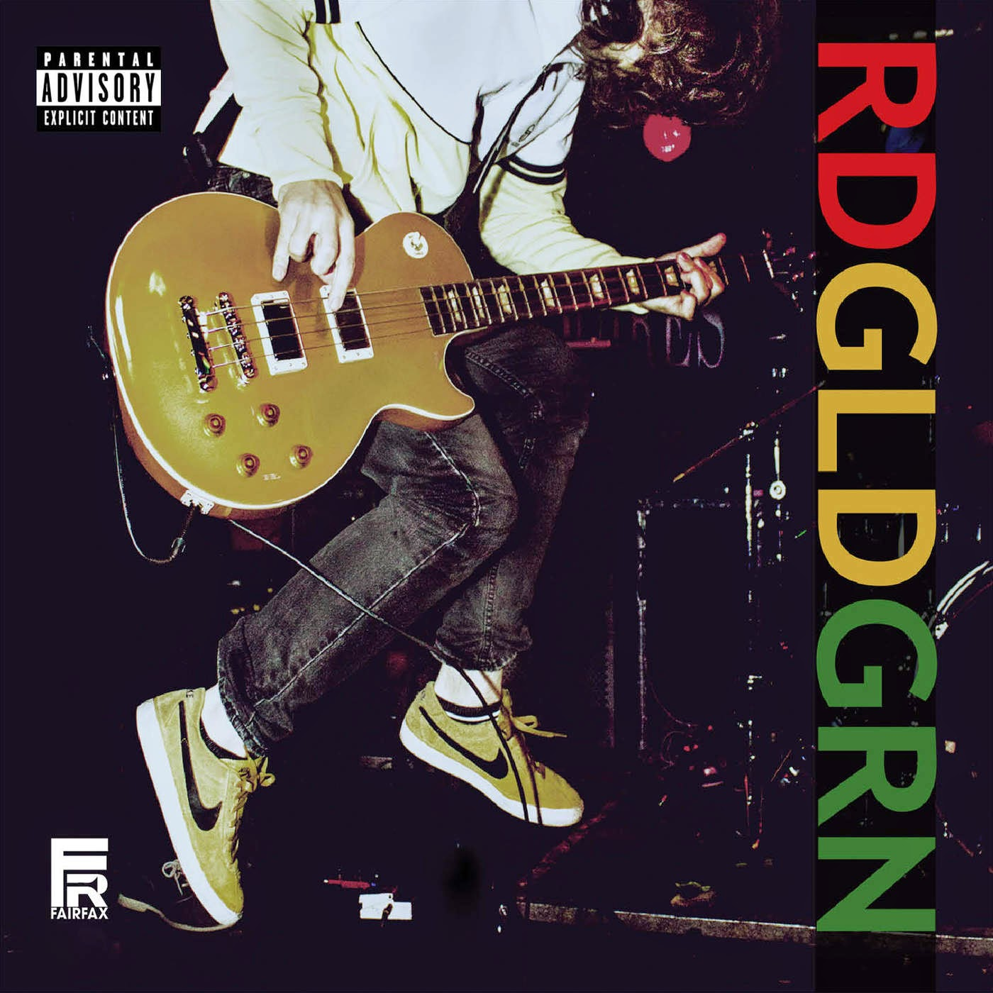 RDGLDNGRN - Red Gold Green Cover
