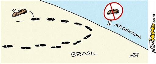Argentina barra calçados brasileiros