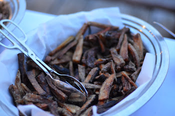 Crispy Sweet and Russet Potato Fries