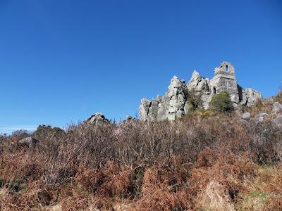 Roche Rock and heathland