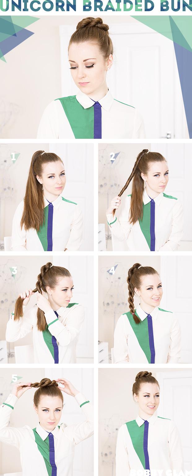 Как сделать причёску на длинные волосы в школу
