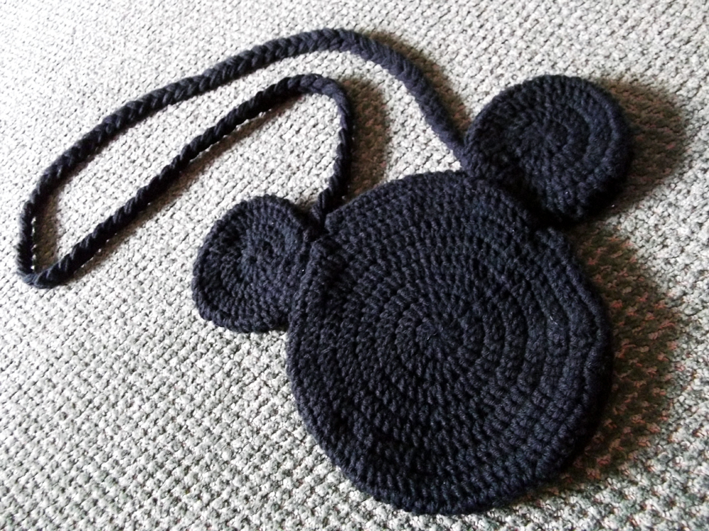 Free Crochet Mickey Mouse Purse Pattern Dancox For