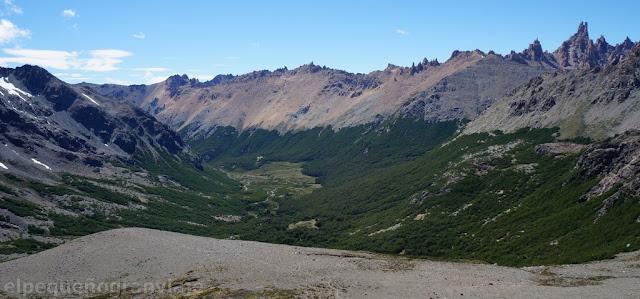 valle, rucaco, filo, catedral, montaña, bariloche