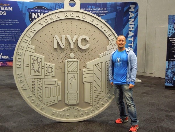 Giant NYC Marathon 2015 medal