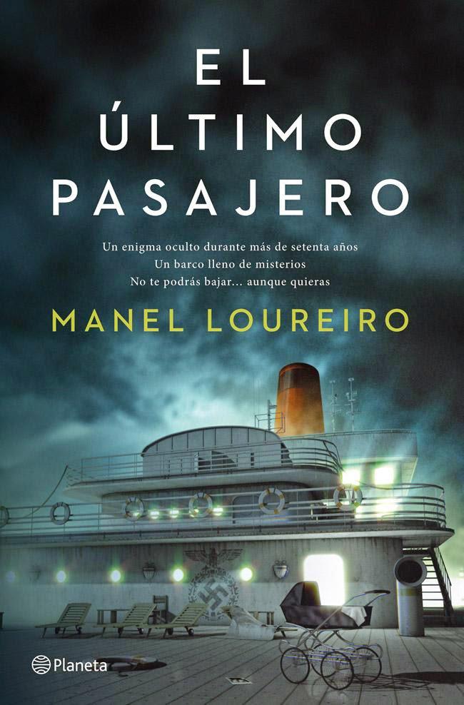 El ultimo pasajero Portada Libro Novela Manel Loureiro