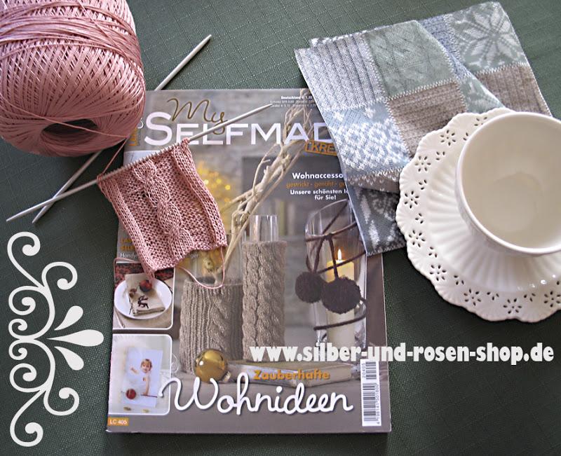 Silber tee mit strickzeug tea with - Selfmade wohnideen ...