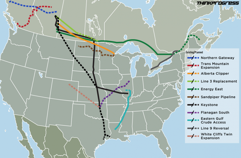 Pipelines (Credit: thinkprogress.org) Click to enlarge.