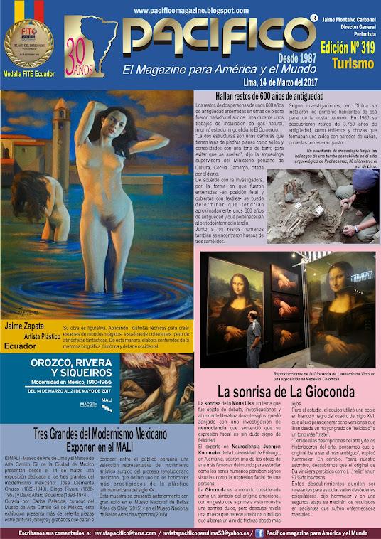 Revista Pacifico Nº 319 Turismo