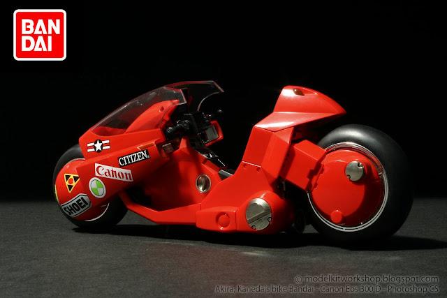 Akira collection kaneda s bike mcfarlane bandai