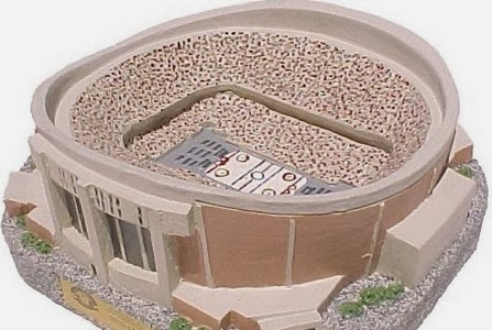 Capital Centre in miniature
